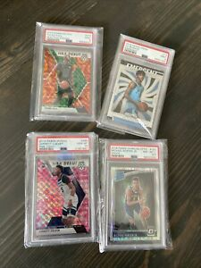 NBA Mystery Pack- Series 1 - PSA GRADED CARD CHASE 🔥 7 Rookies/18 Cards *READ