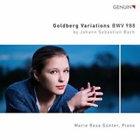 Marie Rosa Günter - Bach:Goldberg Variations [Marie Rosa Günter] [CD]
