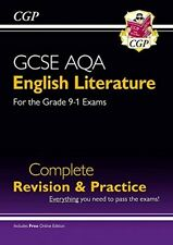 New GCSE English Literature AQA Complete Revision & Practice (Grade 9-1) - CGP