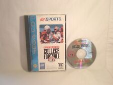 Bill Walsh College Football (Sega CD, 1993) complete