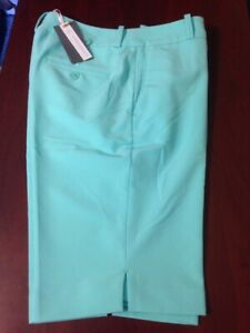 "NWT Fairway & Greene Women's Macie Golf Short Mali green size 6 10 14 NEW 22"""
