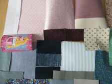 DOLLS HOUSE FABRICS & PAPERS FOR DOLLS HOUSE INTERIORS