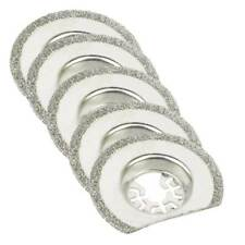 63mm Diamond Semi-Round Electroplated Blade for Fein Multimaster, Dremel 5pk