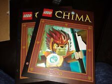 2 -Lego Legends Of Chima 2-pocket/3-hole Folders