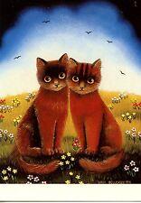 POSTCARD CARTE POSTALE ILLUSTRATEUR ANNA HOLLERER N° LA 168 / CAT / CHAT