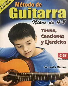 Método de Guitarra Para Niños (Teoría, canciones y ejercicios)