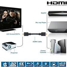 Premium Hdmi Cable V1.4 High Speed Hdtv Ultrahd Hd 1080p para BLURAY 3D DVD HDTV