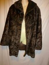 Faux Fur Plus Size Dry-clean Only Coats & Jackets for Women