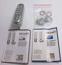 Kitlock 1000 Digital Electronic Vertical Cabinet Lock Battery Operated