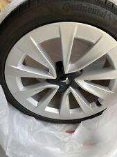 "4 Factory Tesla Model 3 19"" Oem Sport Wheels & Tires"