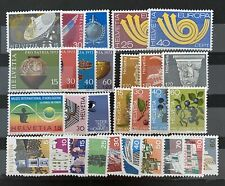 "Switzerland 1973 Set of Stamps MNH plus all FDC""s"
