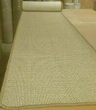 SISAL ECO FRIENDLY NATURAL WHIPPED MAT CARPET RUG/RUNNER 61cm x 404cm RRP £225