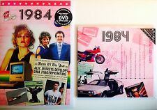 1984 33rd Birthday Gifts Set - 1984 DVD , Pop CD and Card - CD Card Company.