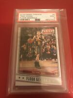 2018-19 Panini Threads Basketball Floor General Trae Young #4 Rookie Rc PSA 9