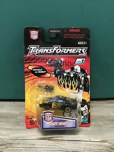Transformers Hot Shot Spy Changers Sports Car Robot Beginner NEW SEALED autobot