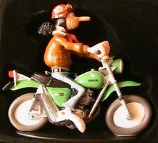 FIGURINE JOE BAR TEAM CHRIS CRAMBLER MOTO BIKE HONDA 125 SL 1/18 RESINE BD