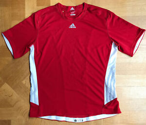 Adidas Supernova Climacool Red/white Sports Top L Excellent Condition