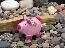 Schaffer Schlüsselanhänger Karabinerhaken Schweinchen Loulou 11 cm