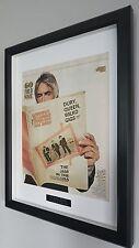 Paul Weller-The Jam-Framed Original NME-Plaque-Certificate-VERY RARE 60 Years