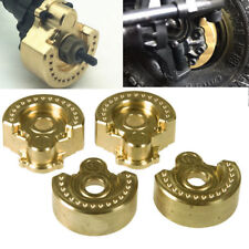4 x Heavy Metal Brass Wheel Weights Radgewicht For 1/10 RC Crawler Traxxas TRX-4
