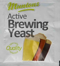 Munton's Active Brewing Yeast 6 Grams For Beer Making