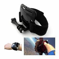 Adjustable Wrist Strap Arm Band Mount + Mounting Screw for GoPro Hero 2/3/3+/4