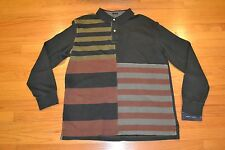 Tommy Hilfiger Long Sleeve Polo Shirt Men's Size: X-Large Color: Moss Green NWT