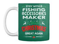 Custom Fishing Accessories Maker - Stay With A Make Christmas Gift Coffee Mug