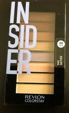 REVLON INSIDER EYE SHADOW #940 COLORSTAY LOOKS BOOK PALETTE NEW