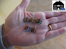 Set Miniature Console games; Tomb Raider Serie. Playstation. MAE Mini World
