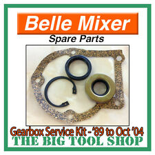 SERVICE KIT BELLE MIXER GEARBOX 1989 - OCT '04 *1ST CLASS POST* OIL SEAL GASKET