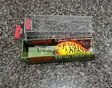 Rapala Dives-To DT-16 HT Hot Tiger Fishing Lure Crankbait Very Rare Color !!!