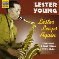 Lester Young - Lester Leaps Again - Original Recordings 1942 - 1944 [CD]