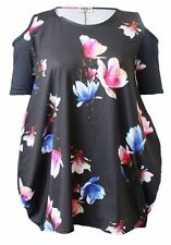 Size Regular Floral Casual Tops & Blouses for Women