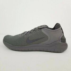 Nike Free RN 2018 Gunsmoke Thunder Gray 942836-011 New Men's Shoes No Lid