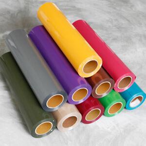 Heat Transfer Vinyl Iron-on PVC For T-Shirt Garment Textile Press DIY