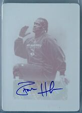 DONT'A HIGHTOWER 2012 PRIME SIGNATURES 1/1 PRINTING PLATE RC AUTO AUTOGRAPH SP/1