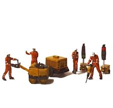 More details for 00 gauge road works figures & accessories made by ne miniatures 1/76 unpainted