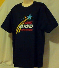"""WOMENS TEE shirt,NWOT,SIZE L,""""GOING BEYOND EXPECTATIONS"""""""