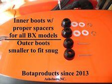 Kubota BX & GR Inner & Outer Tie Rod Boots Upgrade (all BX models)