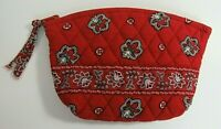 Vera Bradley Vintage Red Bandana Retired Pattern Fall 2001 Cosmetic Bag