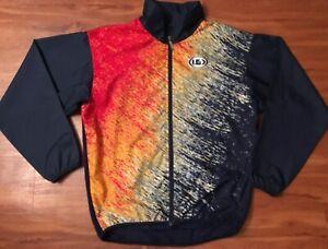 Men's Louis Garneau navy blue cycling jacket size medium
