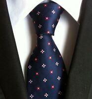 Men's Tie /& Handkerchief Set Black With Silver /& Grey Floral LUC330
