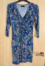 Ladies 'Amani' Floral Stretchy Dress Size 14