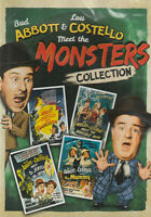 ABBOTT & COSTELLO MEET THE MONSTERS 4-Film Set  New/Unsealed Region 1