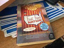 Fast Food Nation Paperback Eric Schlosser New York Times Bestseller