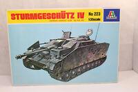 mb1214, RAR Alter Italeri 223 StuG Sturmgeschütz IV BOX 1:35 Bausatz Kit