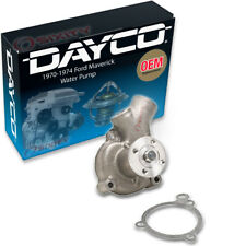 Dayco Water Pump for Ford Maverick 1970-1974 2.8L 3.3L L6 - Engine Tune Up lm