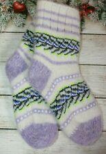 SOCKS Kids' Knitted natural sheep WOOL warm soft 30-35EU
