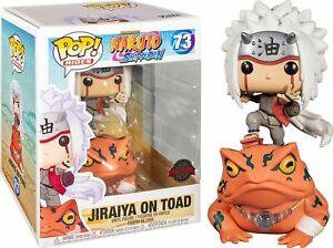 Funko Pop!Naruto 73# Jiraiya on Toad Rides Shippuden Vinyl Action Figures Toys